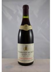 Chambolle Musigny 1er Cru Henri de Villamont 1967