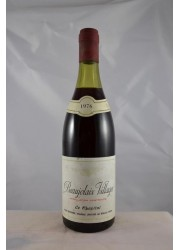 Beaujolais Village Le Chapital Joseph Desperrier 1976