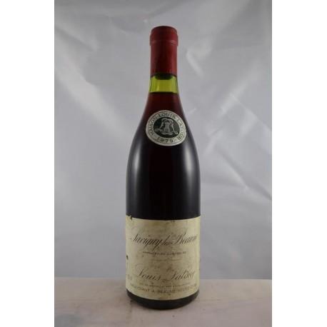 Savigny Les Beaune Louis Latour 1979