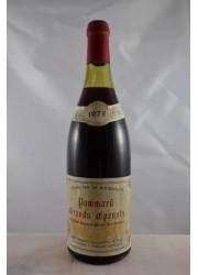 Pommard Grands Epenots Rebourgeon Mignotte 1978
