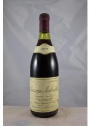 Puligny Montrachet Les Combettes Etienne Sauzet 1971