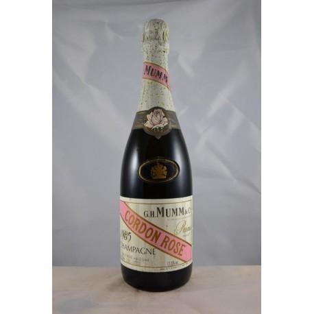 Champagne Mumm Cordon Rose 1985