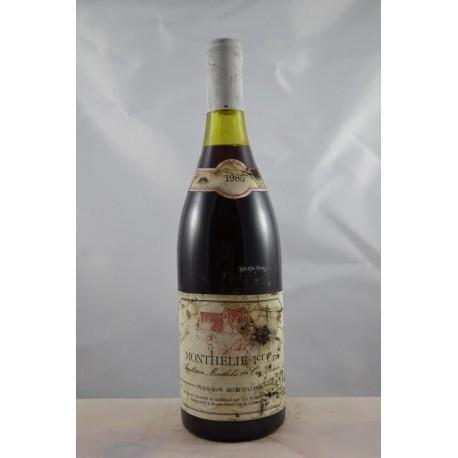 Monthelie 1er Cru Gibourg 1985
