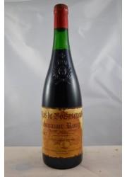 Saumur Rouge Clos de Boismenard Pichot 1987