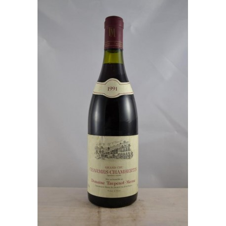 Charmes Chambertin Grand Cru Taupenot Merme 1991