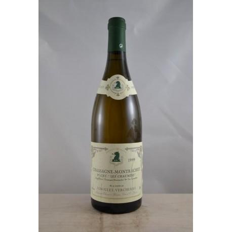 Chassagne Montrachet 1er Cru Les Chaumes Jaboulet Vercherre 1999