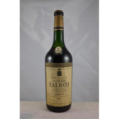 Château Talbot 1961