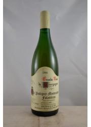 Puligny Montrachet Folatieres Paul Pernot 1996