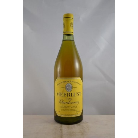 Meerlust Chardonnay 1995